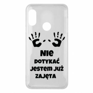 Phone case for Mi A2 Lite Do not touch... - PrintSalon