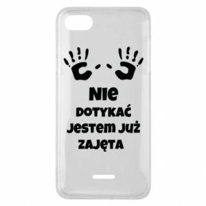 Phone case for Xiaomi Redmi 6A Do not touch... - PrintSalon