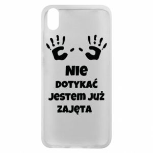 Phone case for Xiaomi Redmi 7A Do not touch... - PrintSalon