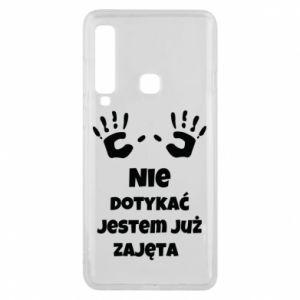 Phone case for Samsung A9 2018 Do not touch... - PrintSalon