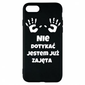 Phone case for iPhone 7 Do not touch... - PrintSalon