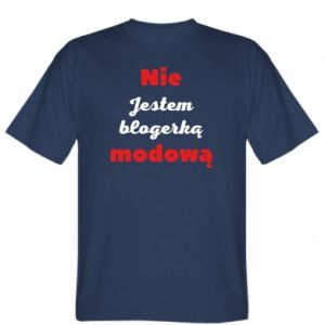 T-shirt I'm not a fashion blogger