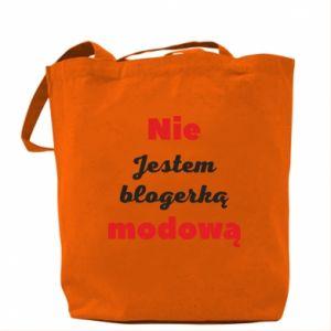 Torba Nie jestem blogerką modową