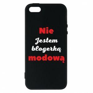 Etui na iPhone 5/5S/SE Nie jestem blogerką modową