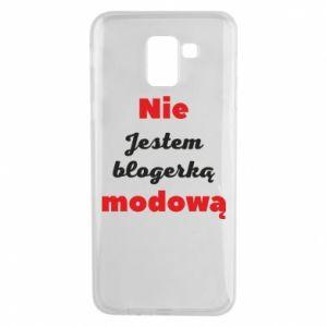 Etui na Samsung J6 Nie jestem blogerką modową