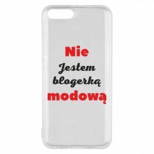 Etui na Xiaomi Mi6 Nie jestem blogerką modową