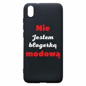 Etui na Xiaomi Redmi 7A Nie jestem blogerką modową
