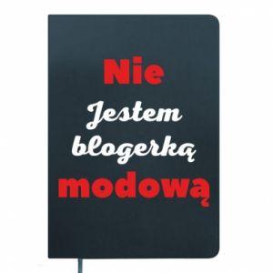 Notes Nie jestem blogerką modową