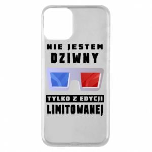 Phone case for iPhone 11 I'm not weird