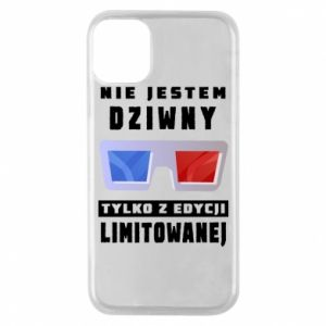 Phone case for iPhone 11 Pro I'm not weird
