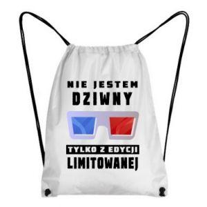 Plecak-worek Nie jestem dziwny