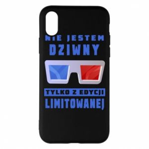 Phone case for iPhone X/Xs I'm not weird