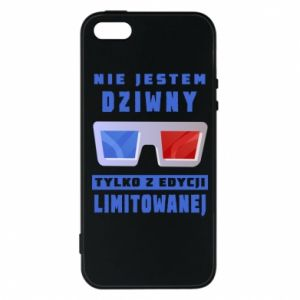 Phone case for iPhone 5/5S/SE I'm not weird