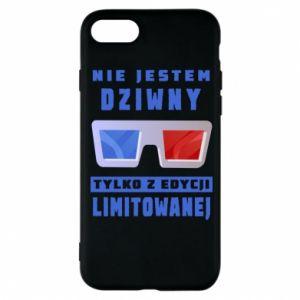 Phone case for iPhone 8 I'm not weird