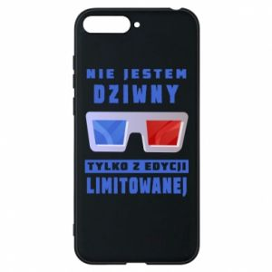 Phone case for Huawei Y6 2018 I'm not weird