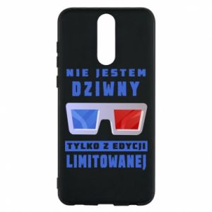Phone case for Huawei Mate 10 Lite I'm not weird
