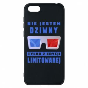 Phone case for Huawei Y5 2018 I'm not weird