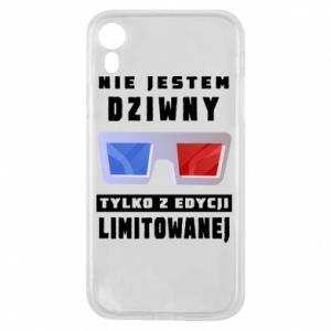 Phone case for iPhone XR I'm not weird