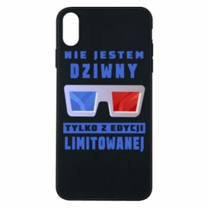 Phone case for iPhone Xs Max I'm not weird