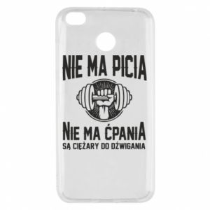 Xiaomi Redmi 4X Case No drinking no drugs