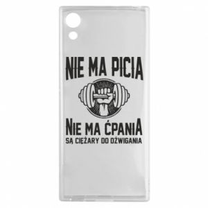 Sony Xperia XA1 Case No drinking no drugs