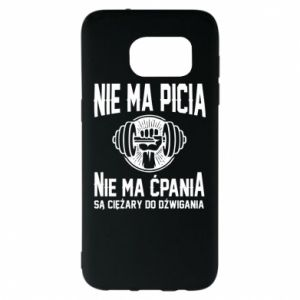 Samsung S7 EDGE Case No drinking no drugs