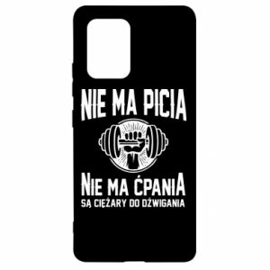 Samsung S10 Lite Case No drinking no drugs