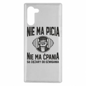 Samsung Note 10 Case No drinking no drugs
