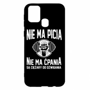 Samsung M31 Case No drinking no drugs