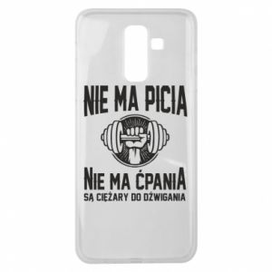 Samsung J8 2018 Case No drinking no drugs