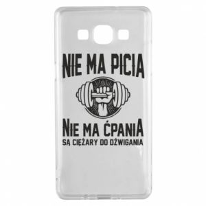 Samsung A5 2015 Case No drinking no drugs