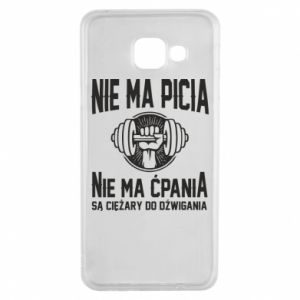 Samsung A3 2016 Case No drinking no drugs