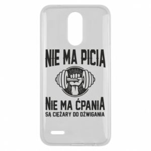 Lg K10 2017 Case No drinking no drugs