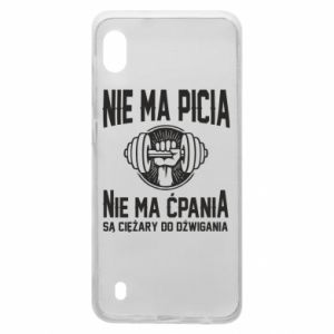 Samsung A10 Case No drinking no drugs