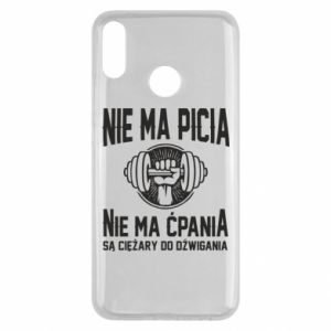 Huawei Y9 2019 Case No drinking no drugs