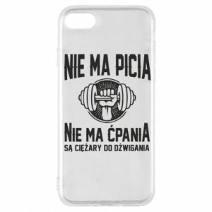 iPhone 7 Case No drinking no drugs