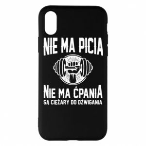iPhone X/Xs Case No drinking no drugs