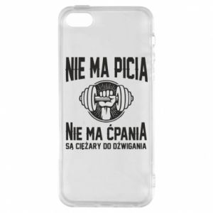 iPhone 5/5S/SE Case No drinking no drugs