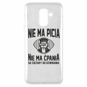 Samsung A6+ 2018 Case No drinking no drugs