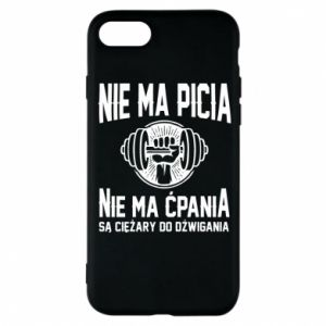 iPhone 8 Case No drinking no drugs