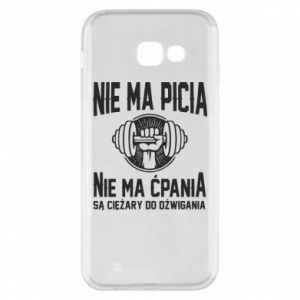 Samsung A5 2017 Case No drinking no drugs