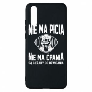 Huawei P20 Case No drinking no drugs