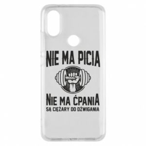 Xiaomi Mi A2 Case No drinking no drugs
