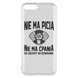 Xiaomi Mi6 Case No drinking no drugs