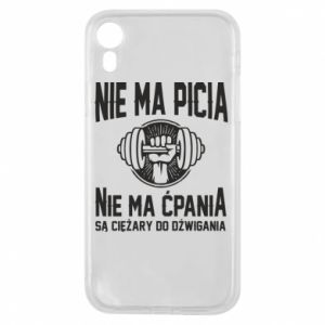 iPhone XR Case No drinking no drugs