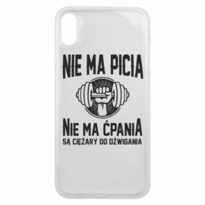 iPhone Xs Max Case No drinking no drugs