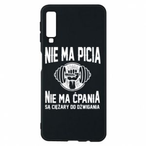 Samsung A7 2018 Case No drinking no drugs