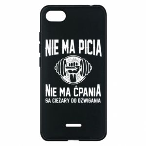 Xiaomi Redmi 6A Case No drinking no drugs
