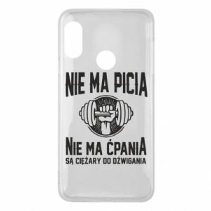 Mi A2 Lite Case No drinking no drugs