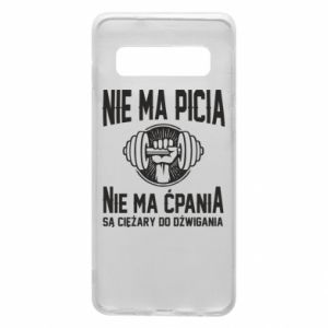 Samsung S10 Case No drinking no drugs